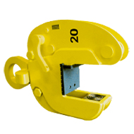 Safety Clamps Inc. Customized Lifting Clamps with Special Grippers and Wide Jaw