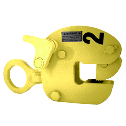 Safety Clamps Model VL - Vertical Lifting Clamp with Auxiliary Lock